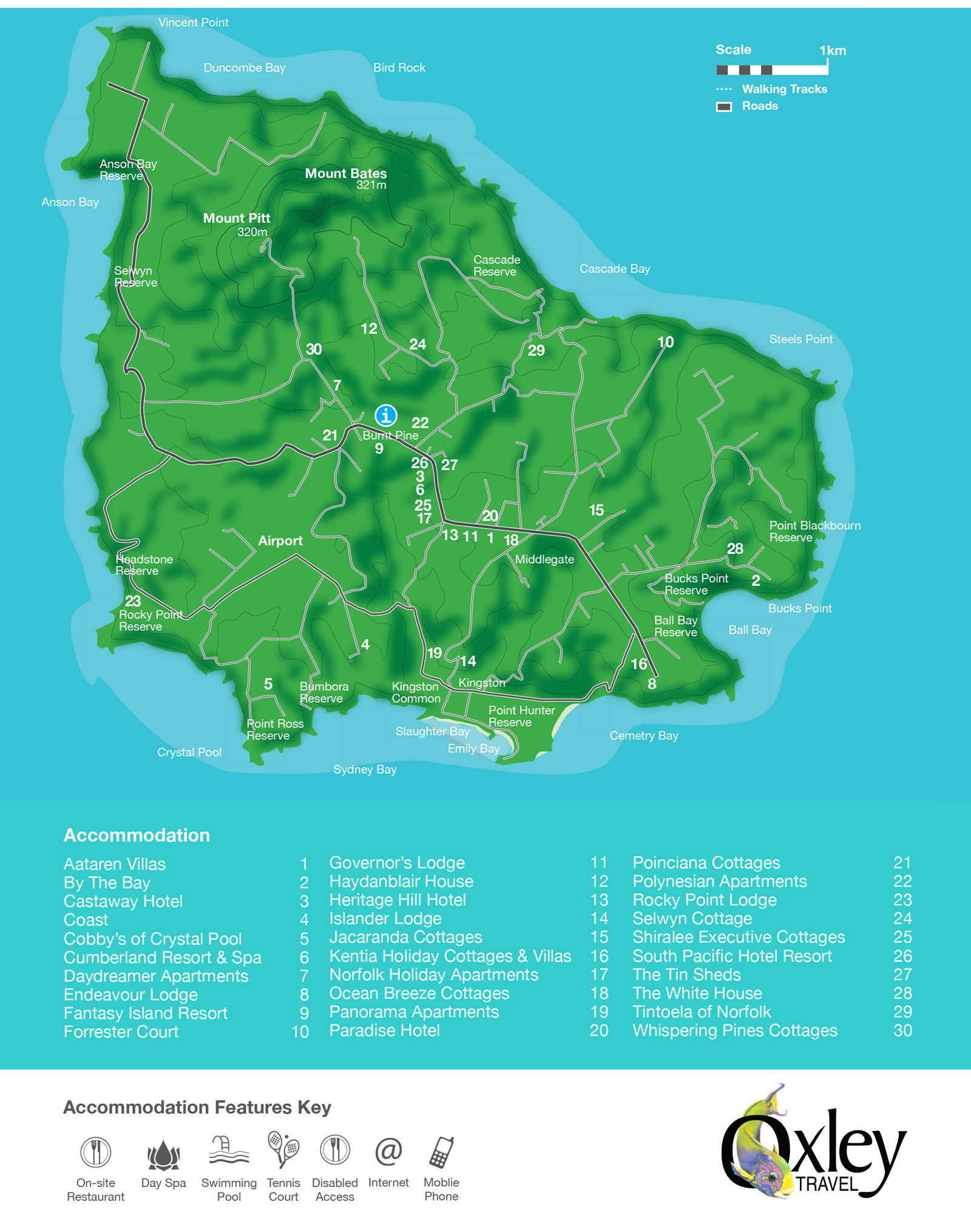 Norfolk-Island-Map