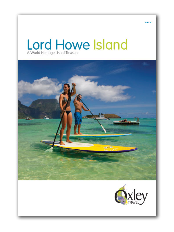 Lord Howe Island Brochure Cover