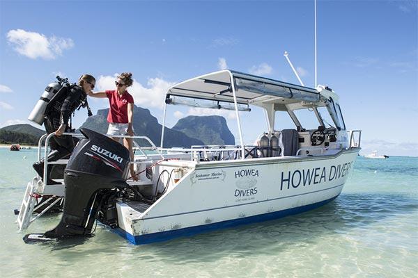 Howea Divers